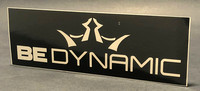 Bumper Sticker—Dynamic Discs—Black, White