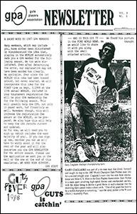 GPA Newsletter v8n1 1988 thumb