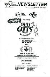 GPA Newsletter v14n1 1991 thumb