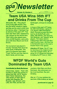 GPA Newsletter v15n4 1992 thumb