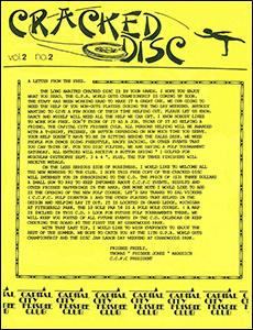 Cracked Disc v2n2 1988