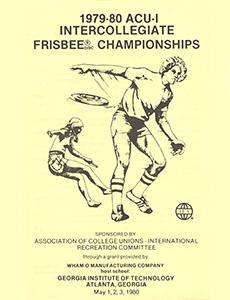 1980 ACU-I Championship Program—Atlanta, GA—May 1–3, 1980