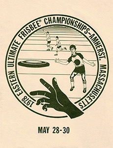 1978 Eastern Ultimate Championships Program—Amherst, MA—May 28–30, 1978
