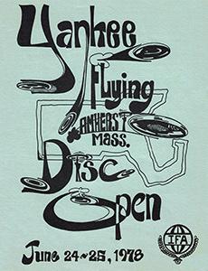 1978 Yankee Flying Disc Open Program