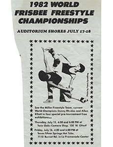 1982 FPAW Flyer—Austin, TX—Jul 17–18, 1982