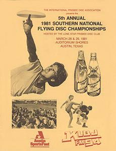 1981 Southern Nationals (NAS) Program—Austin, TX—Mar 28–29, 1981