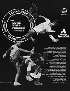 1981 Southern Nationals (NAS) Flyer—Austin, TX—Mar 28–29, 1981