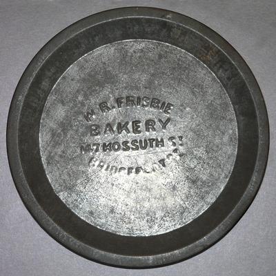 Rarest of the Rare: W R Frisbie Bakery