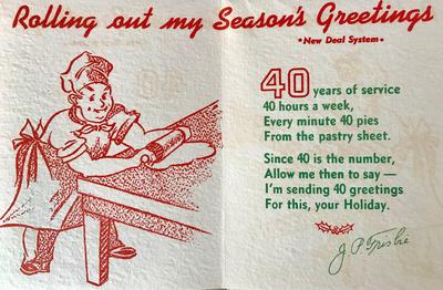 40th Year Holiday Card