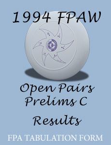 1994 FPAW Open Pairs Prelim C