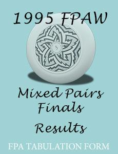 1995 FPAW Mixed Pairs Finals