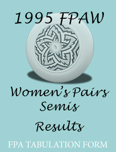 1995 FPAW Women's Pairs Semis