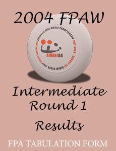 2004 FPAW Intermediate Round 1