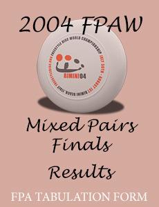 2004 FPAW Mixed Pairs Finals