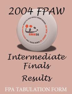 2004 FPAW Intermediate Finals