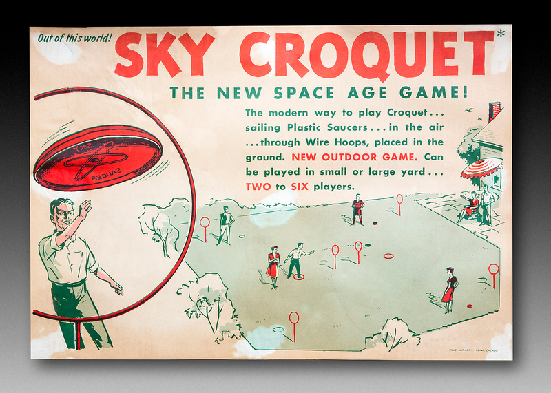 Copar—Sky Croquet—Instructions Label