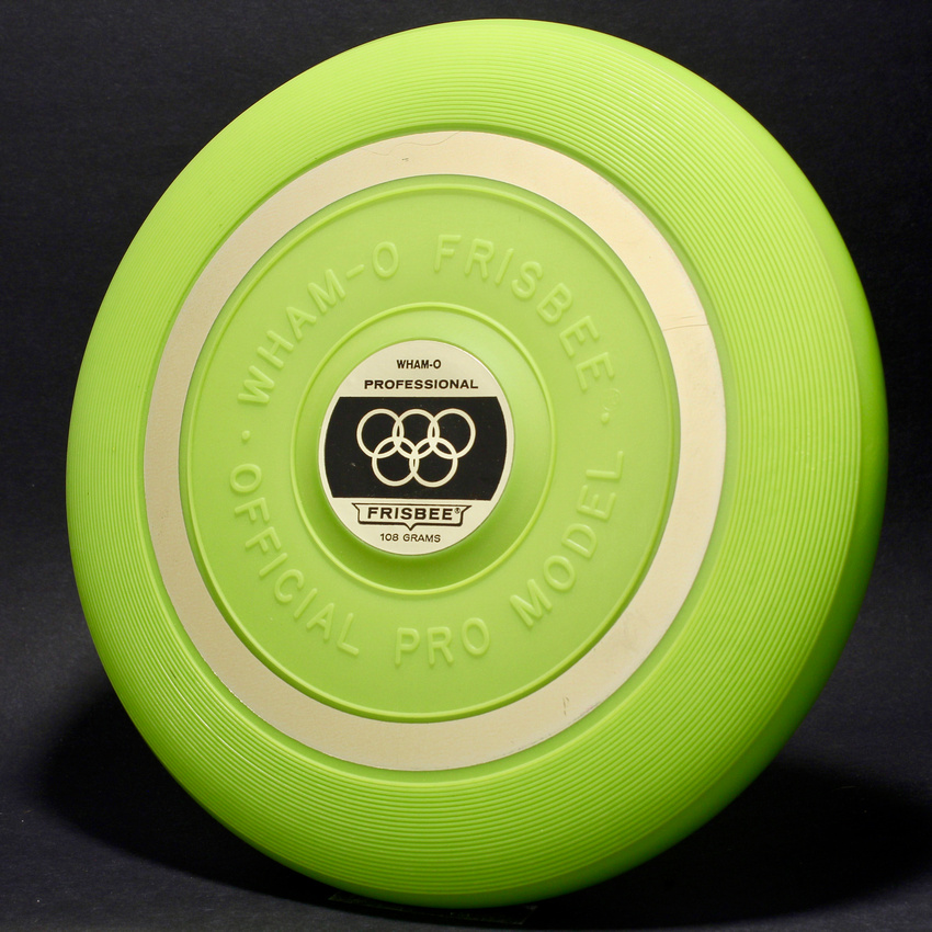 Chartreuse—1 Mold—4th Style—Gold Band—2nd Olympic Label
