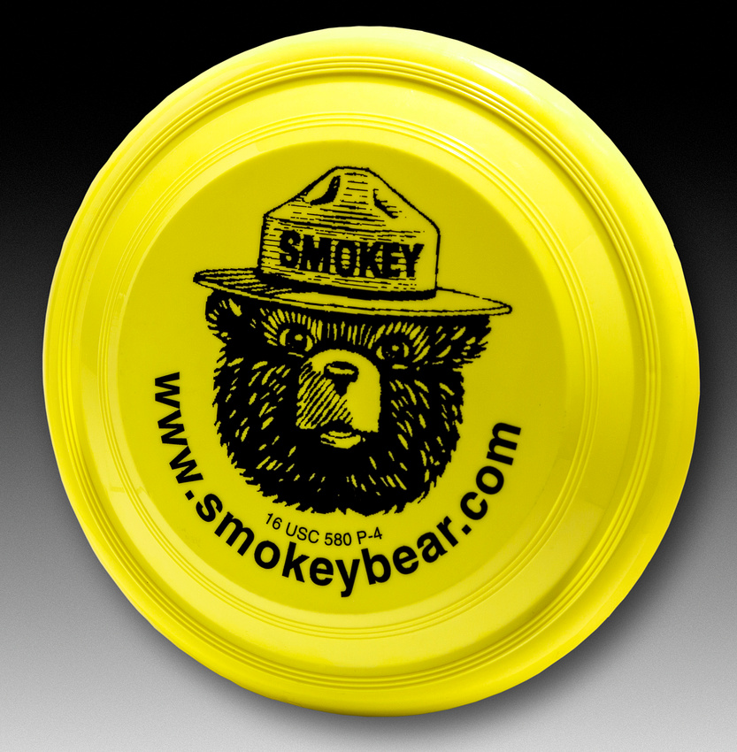 Smokey the Bear—Unknown—Yellow—Black