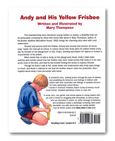 Andy and His Yellow Frisbee—Mary Thompson—Back Cover