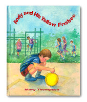 Andy and His Yellow Frisbee—Mary Thompson— Front Cover