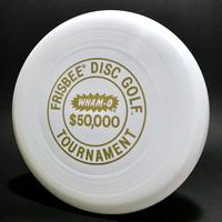 $50,000 Tournament—Wham-O 50 Mold—White