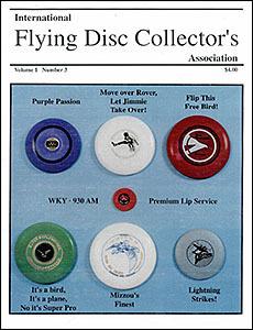 International Flying Disc Collector's Association v1n3