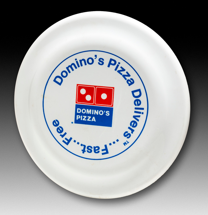 Domino's Pizza—A.S.I.—White—Red, Blue