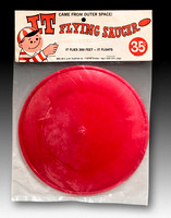 C. & W. Plastics Co—Flying Saucer—IT Came From Outer Space