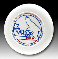 AFDO, 1981—Discraft Sky-Styler—White—Red, Blue