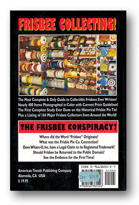 Complete Book of Frisbee, The—Victor Malafronte—Back Cover
