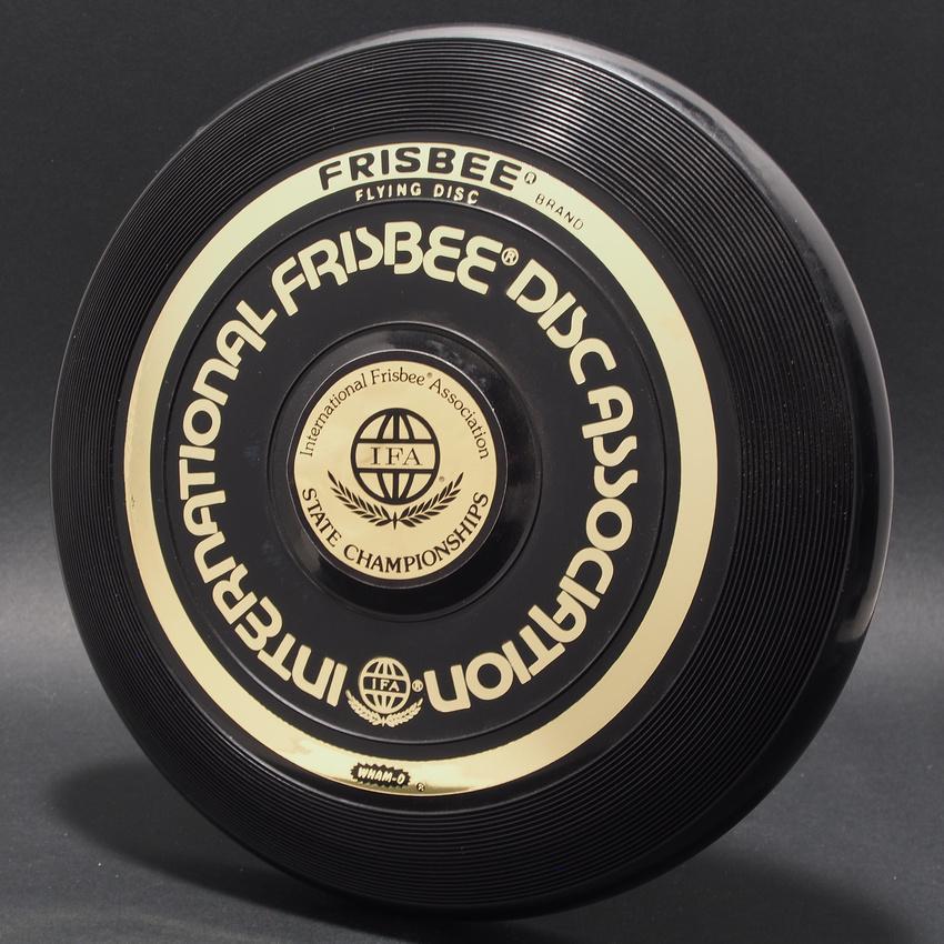 Black—Wham-O 15 Mold—Gold IFA