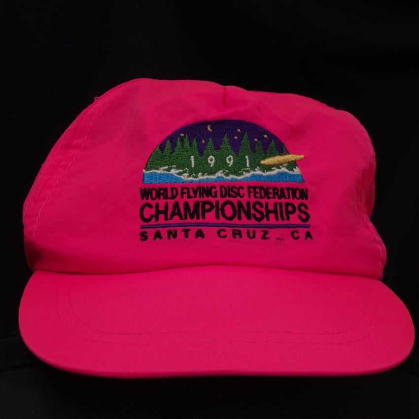 1991 WFDF—Hat—Pink