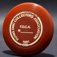 FDCA Member #3—Wham-O Mini—Brown—Gold