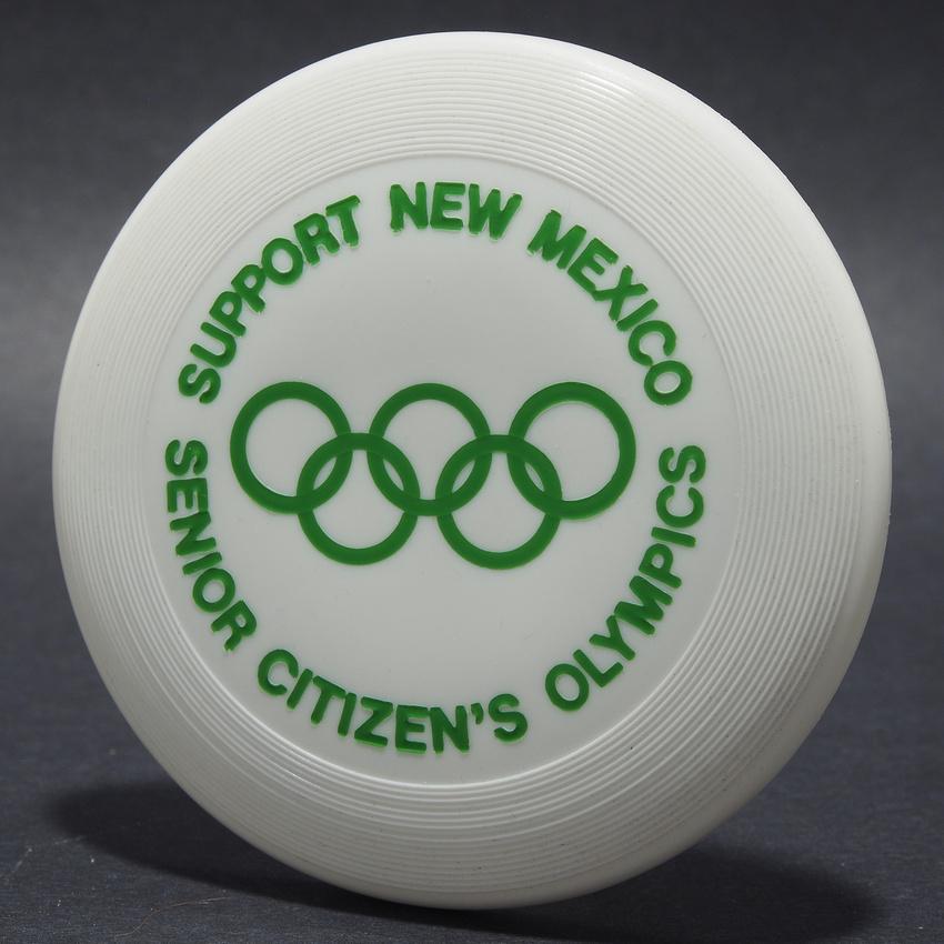 N.M. Senior Citizens Olympics—Wham-O Mini—White—Green