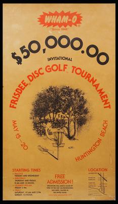 Wham-O $50,000 Frisbee Disc Golf Tournament