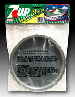 Nasta—Bottle Cap Flyer—7-Up—Silver—Green, White, Red—Package Back
