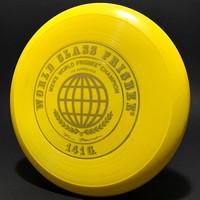 World Class Frisbee 141G—Scribble signature—50 Mold