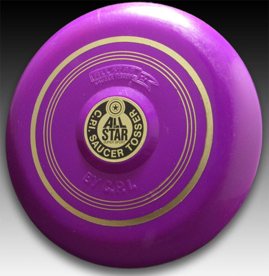 CPI Saucer Tosser, All Star—Test  Run—Purple—Gold