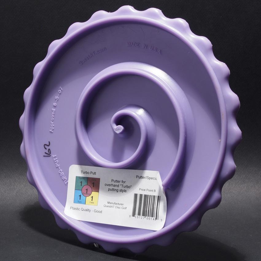 Turbo Putt—Purple—Gold— Bottom