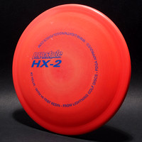 #2 Helix, Prostyle—Orange—Metallic Blue