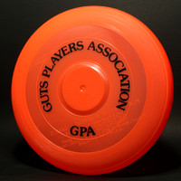 GPA—Wham-O—15 Mold—9th Style—Fire Orange—Black