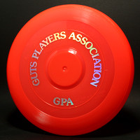 GPA—Wham-O—15 Mold—9th Style—Fire Orange—CD Silver