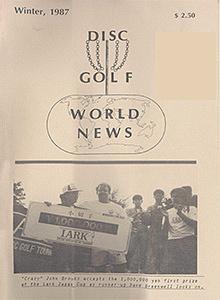 Disc Golf World News v1n4 Winter87