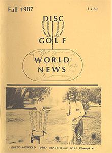 Disc Golf World News v1n3 Fall87