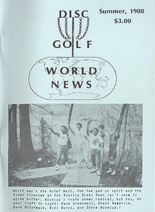 Disc Golf World News v2n2 Summer88