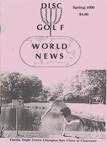 Disc Golf World News v4n1 Spring90