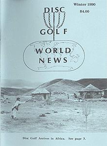 Disc Golf World News v4n4 Winter90