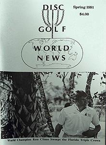 Disc Golf World News v5n1 Spring91