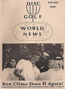 Disc Golf World News v6n3 Fall92