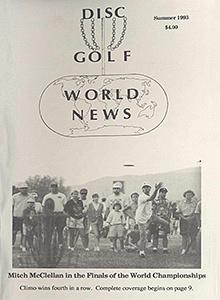Disc Golf World News v7n2 Summer93